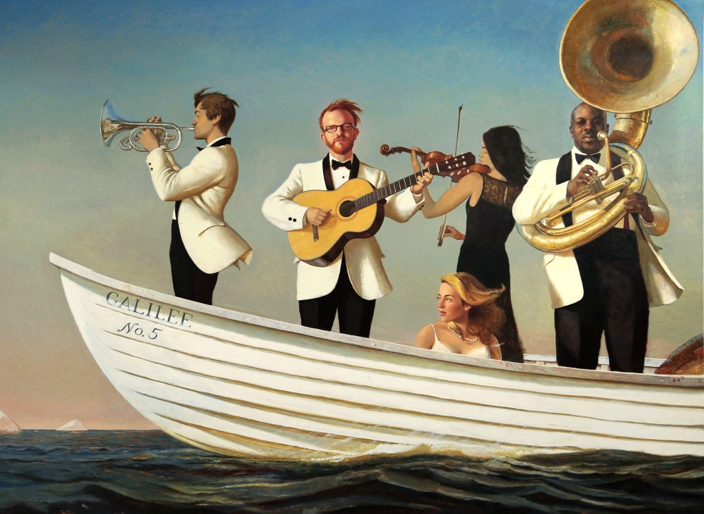 "Bo Bartlett. ""Galilee"" (Booth #518)"