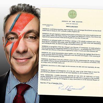 Wakeup Makeup With Rahm Emanuel (courtesy of Facebook)