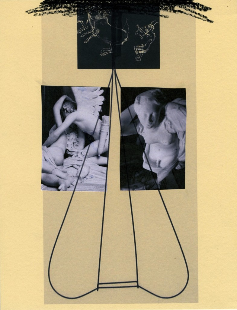 "Ryan M Pfieffer and Rebecca Walz. Selection from ""Psyche + Eros (Pieta as Rebis),"" 2014"