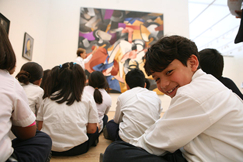 The TEAM program brings selected classes of CPS students into the museum twice a year for tours with specially trained docents.