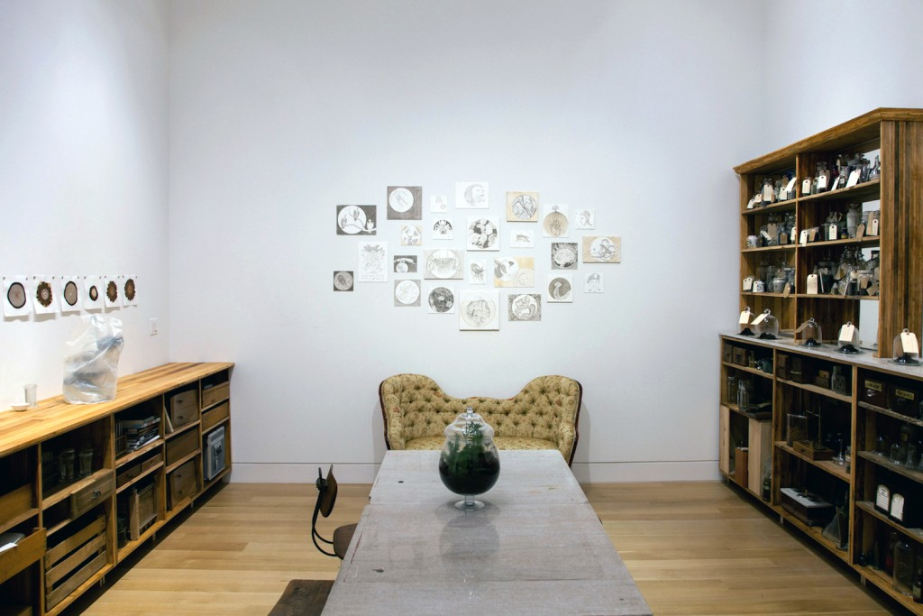 """Claire Pentecost. """"Our Bodies, Our Soil,"""" installation view"""