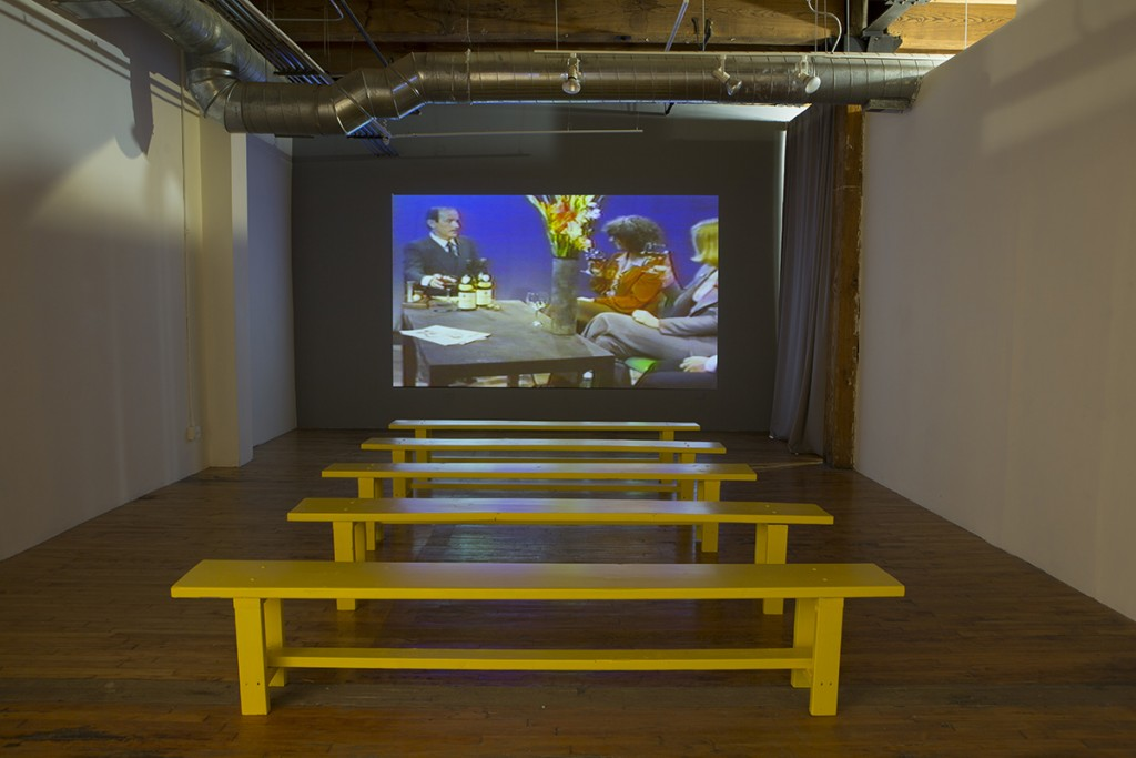 "Installation view of ""Outreach: Jaime Davidovich 1974-1984"""