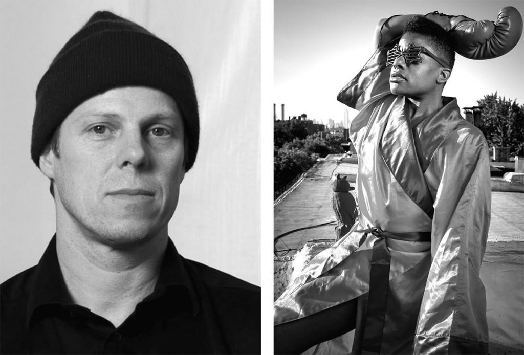Joe Scanlan (left) and Jennifer Kidwell (right/ Ian Douglas 2012).