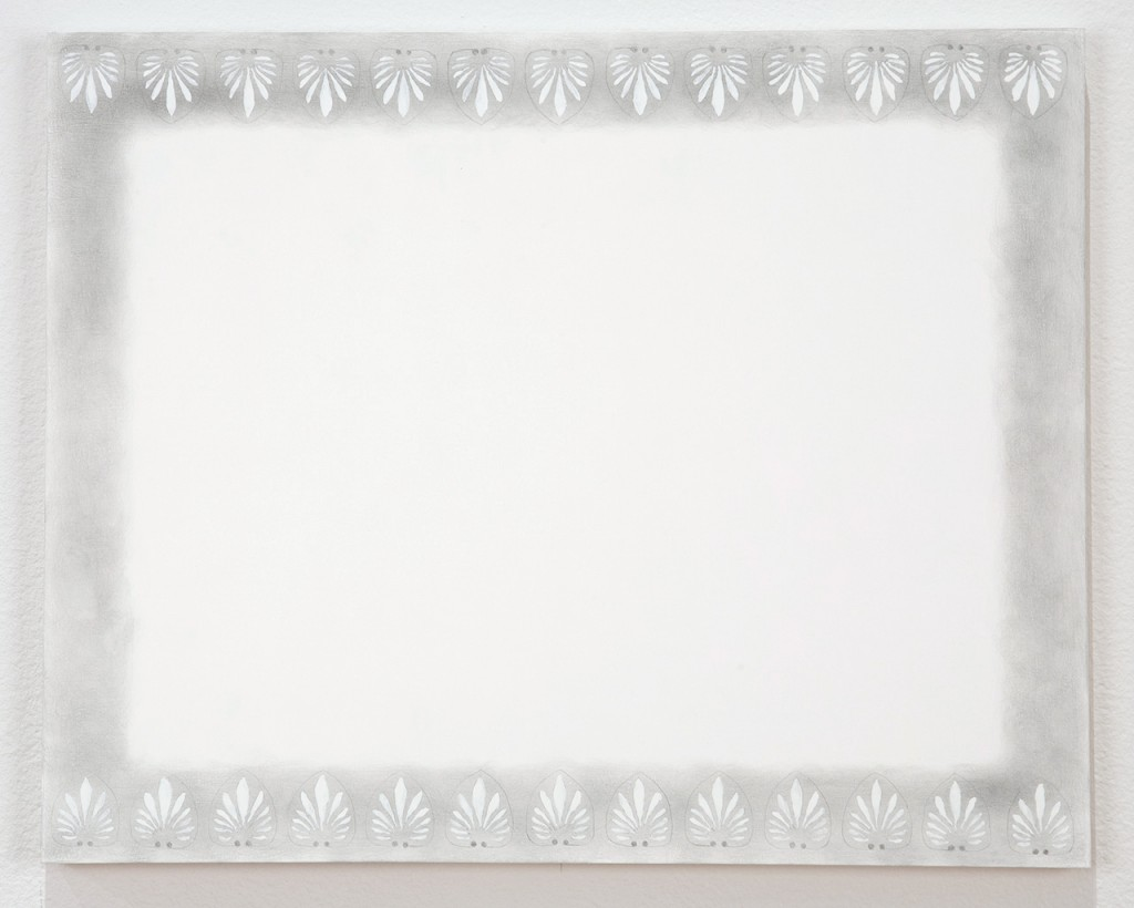 "C. C. Ann Chen. ""Untitled (TBA/playful)"" silverpoint on panel"