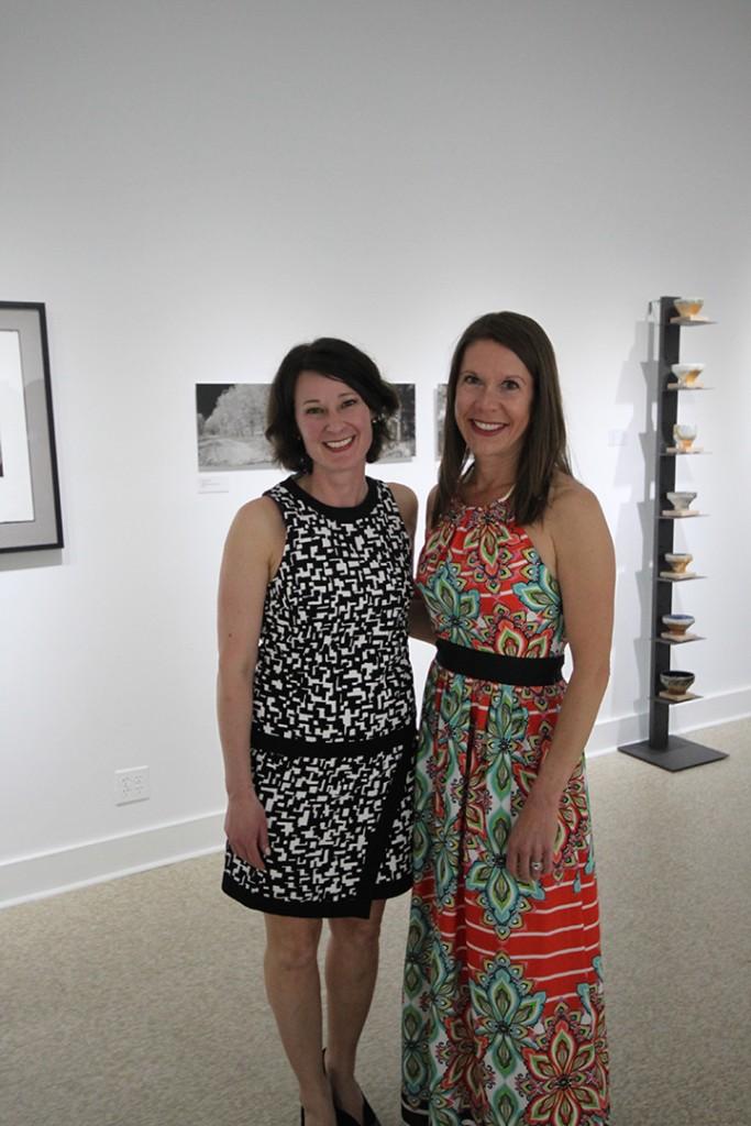Kathleen Burnett (left) and Teresa Grammatke (right) have partnered to open Gallery 2506.