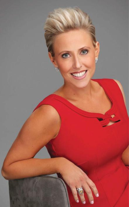 "Laura Schwartz: professional speaker, best-selling author, regular television commentator and moderator for the ""Lake Effect,"" a keynote address on April 19.  Image: lauraschwartzlive.com"