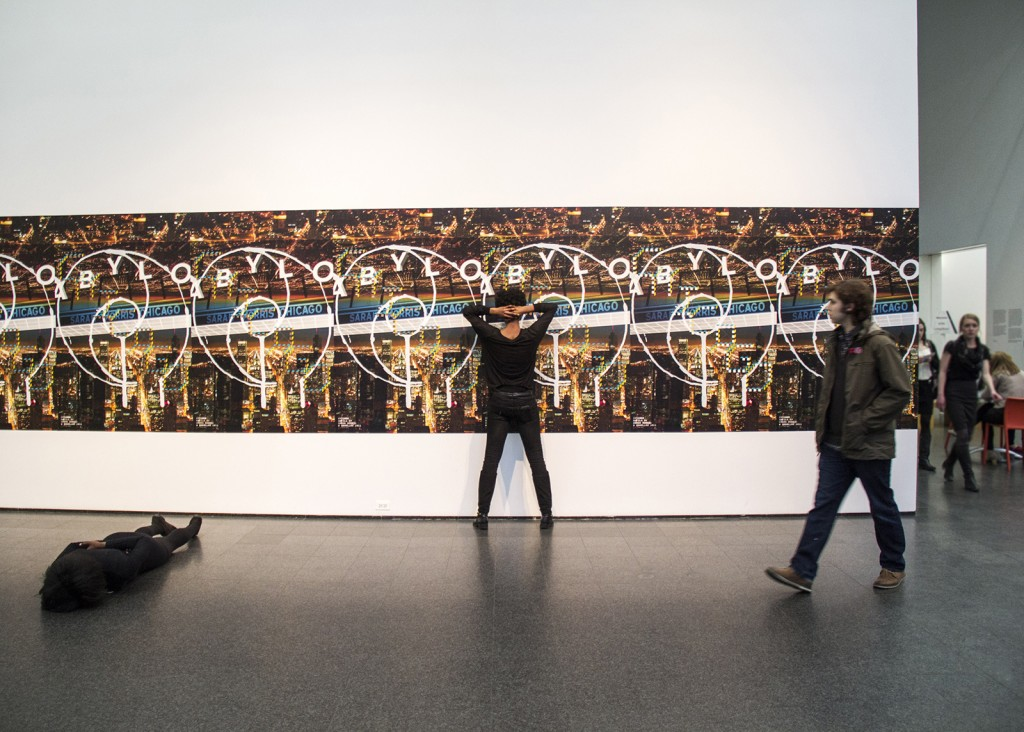 """Maria Gaspar. """"Cook County Jail: The Visible and Invisible Archives,"""" 2014,  at the Museum of Contemporary Art Chicago"""
