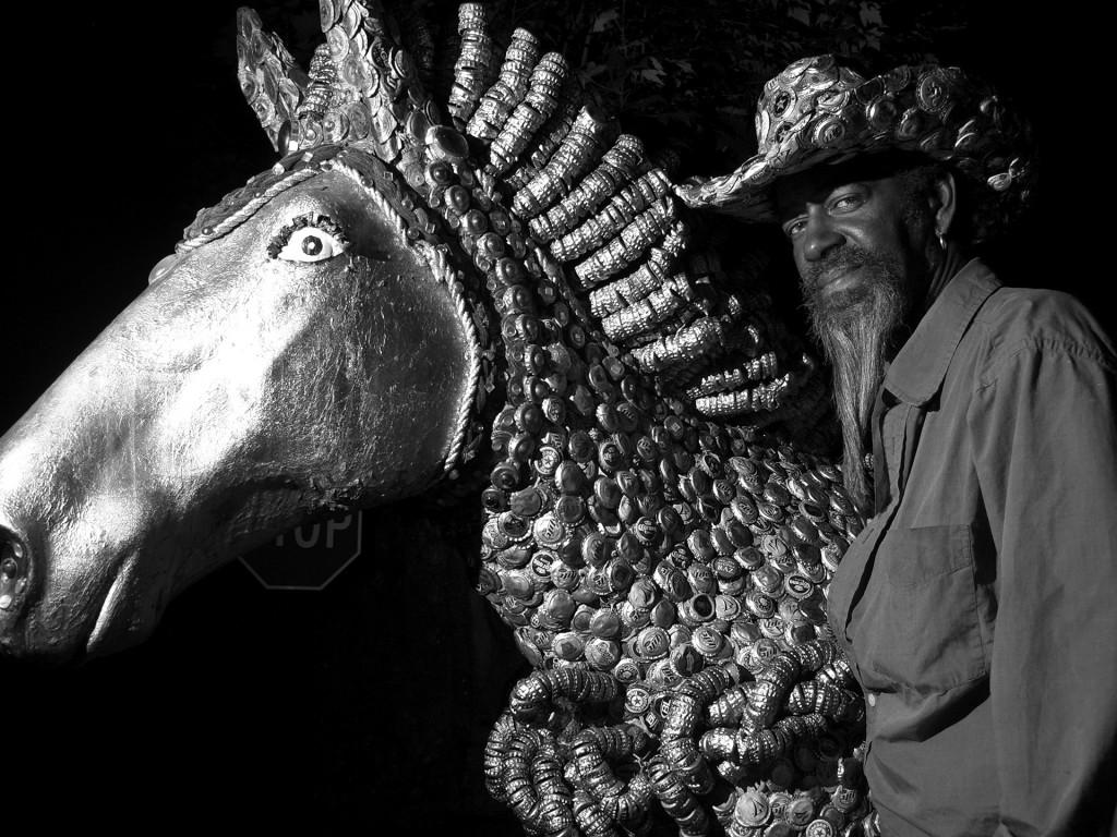 """Mr. Imaginations Horse"" by dimitre."