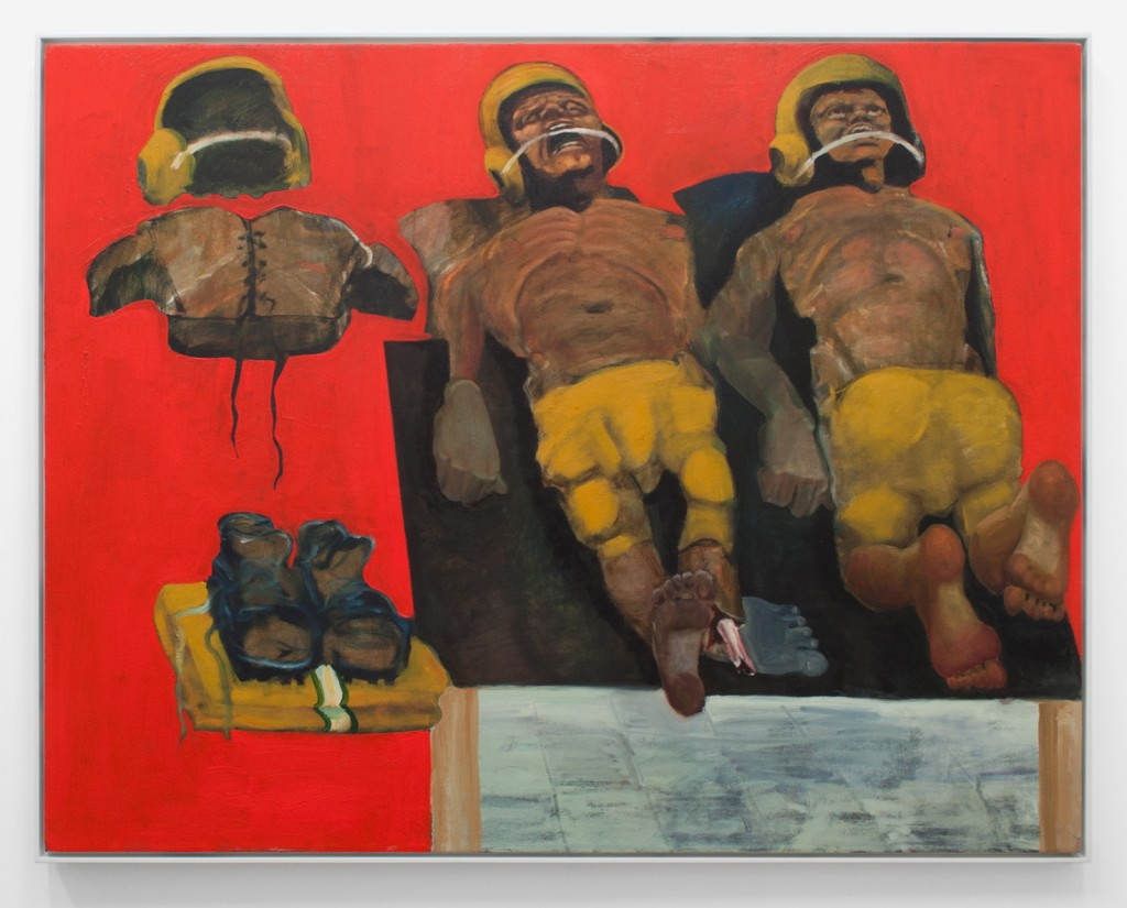 """Ethan Gill. """"Cosmonauts,""""  oil on canvas"""