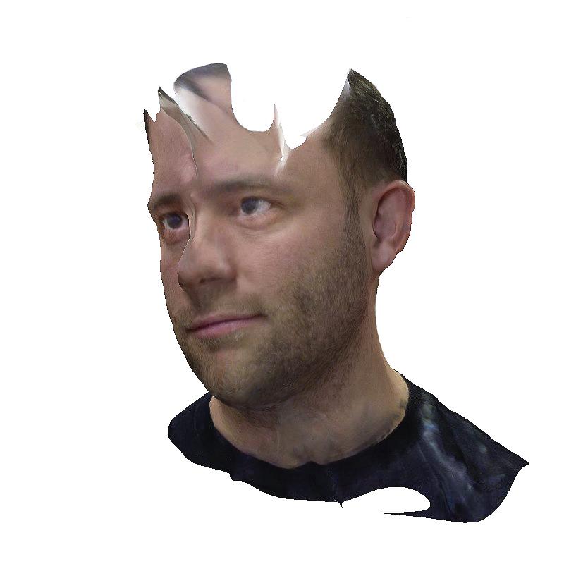 3D scan of Chris Meerdo's head