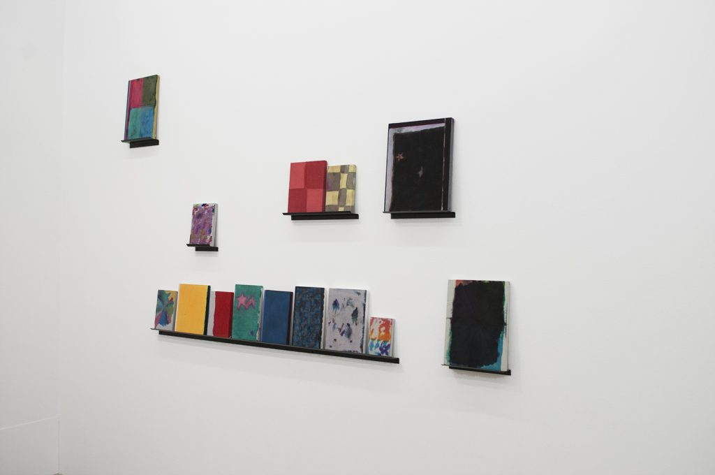 "Cody Tumblin. Installation view of ""Tell Tale"""
