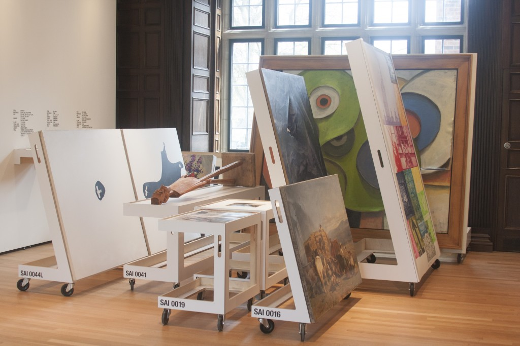 No Longer Art: Salvage Art Institute. Installation view, Neubauer Collegium for Culture and Society, 2015