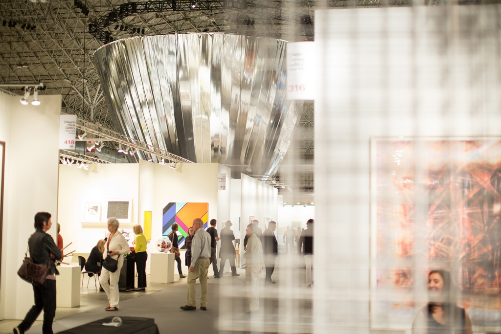 EXPO CHICAGO 2014 at Navy Pier's Festival Hall. Photo by Justin Barbin.