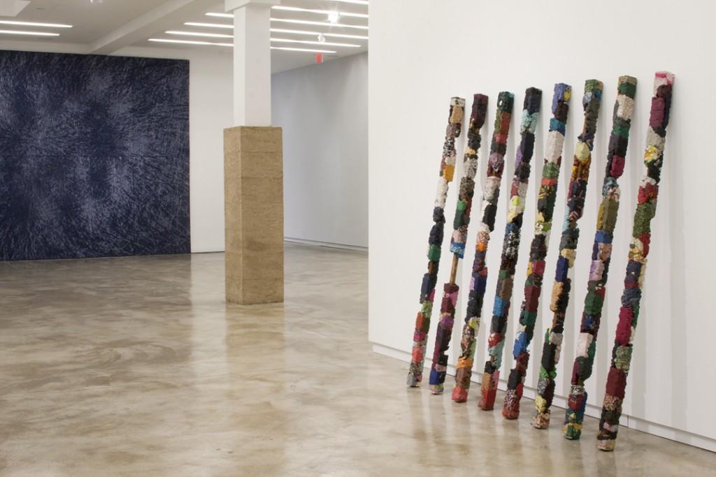 """Installation view of """"Manish Nai"""" at Kavi Gupta Gallery."""