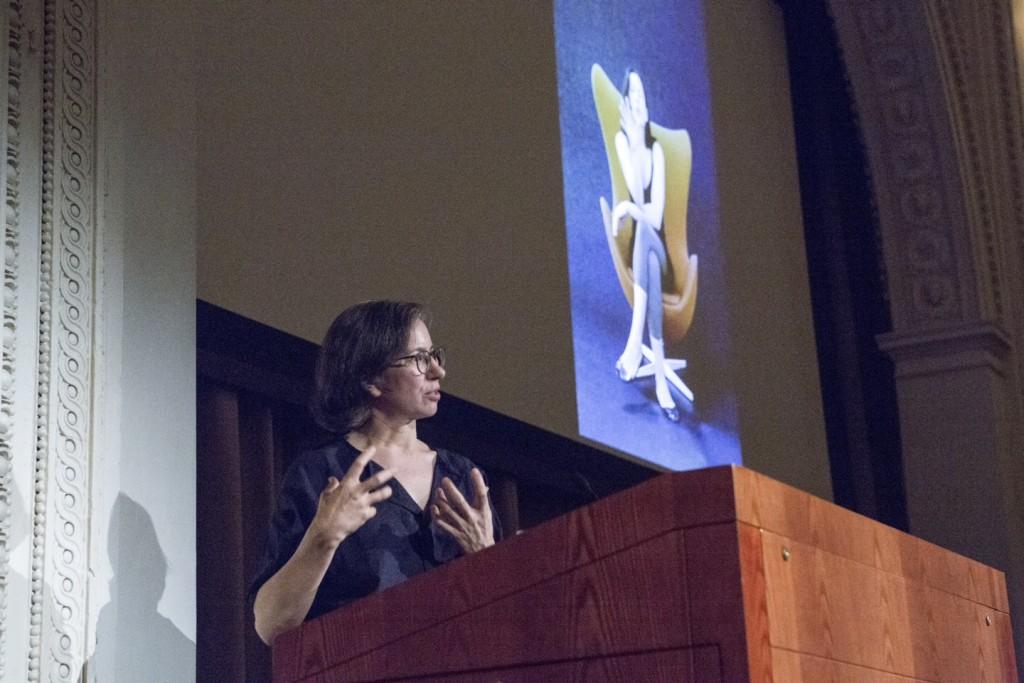 Andrea Fraser at SAIC