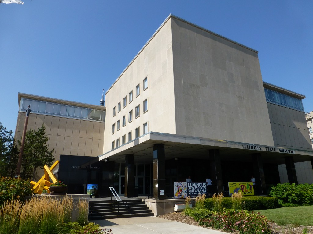 Illinois State Museum in Springfield. Photo by Mike Linksvayer.