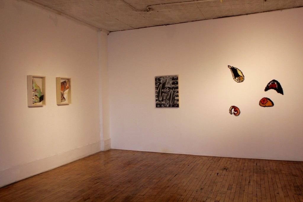 """Installation view, """"Ask the Oracle,"""" Heaven Gallery."""
