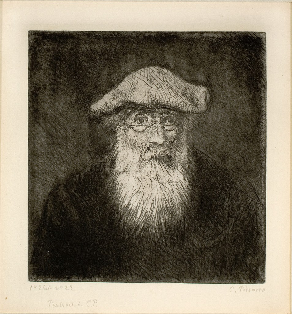 """Camille Pissarro. """"Self-portrait,"""" circa 1890."""