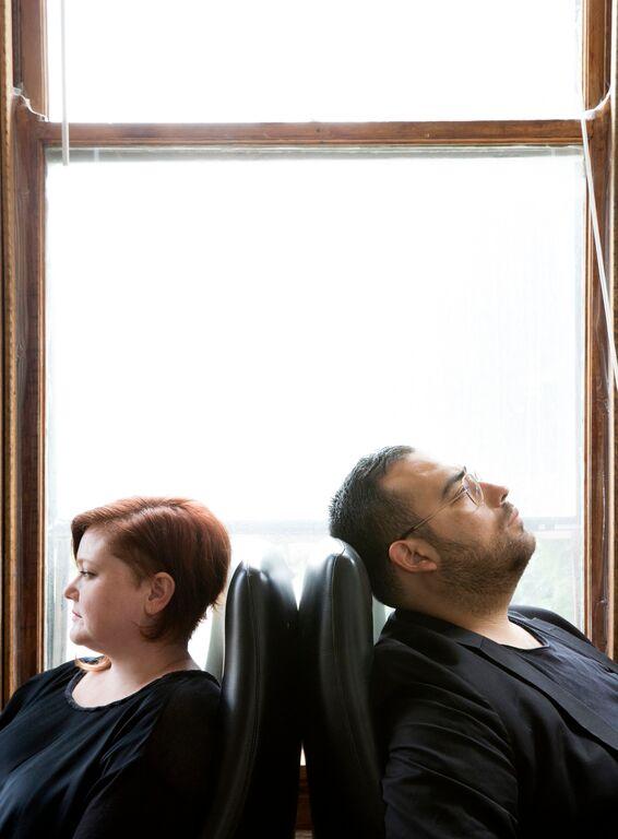 Julia Fischbach and Emanuel Aguilar. / Photo: Sara Pooley.