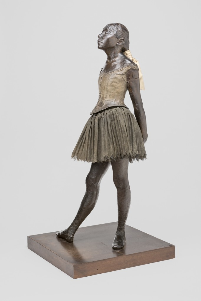 "Edgar Degas. ""Little Dancer Aged Fourteen,"" c. 1879-1881. Private Collection."