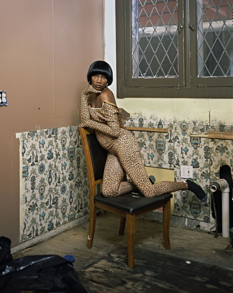 "Deana Lawson. ""Nikki's Kitchen, Detroit, Michigan,"" 2015. Courtesy of Rhona Hoffman Gallery, Chicago."