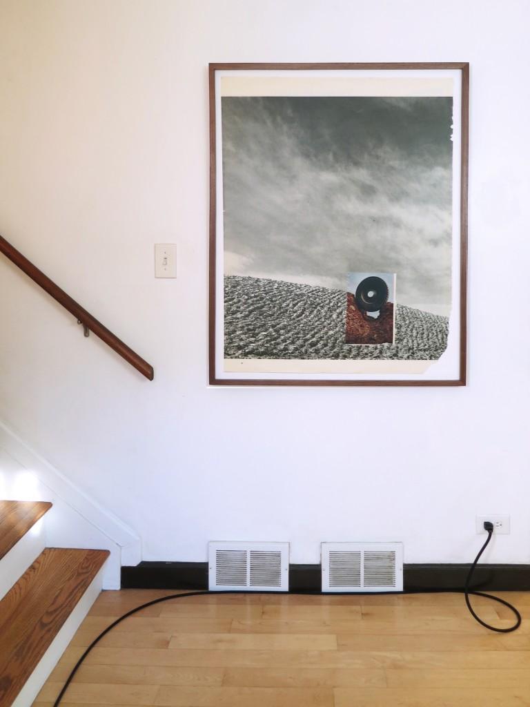 """Karsten Lund. """"Distal Zone, installation view at the Franklin, 2015."""
