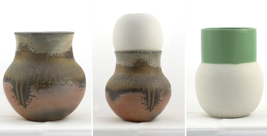 Ceramics by Noah Signer. Threewalls Seasonal Shop Showcase.