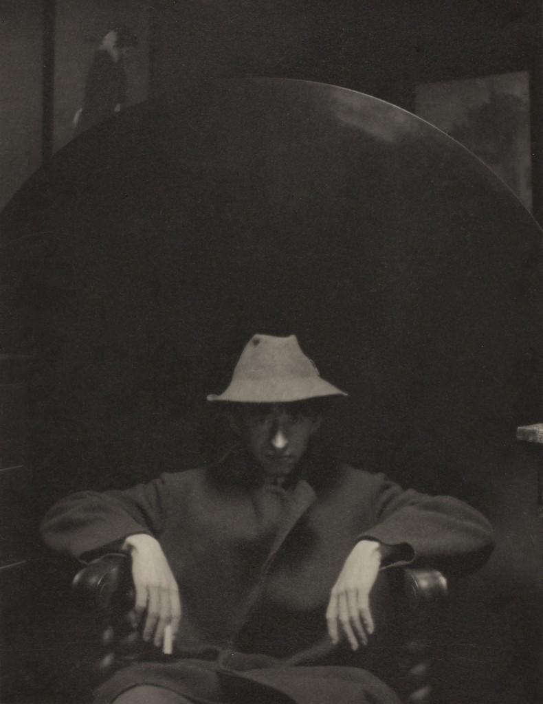 """Alfred Stieglitz. """"John Marin,"""" 1910. The Art Institute of Chicago. Alfred Stieglitz Collection."""