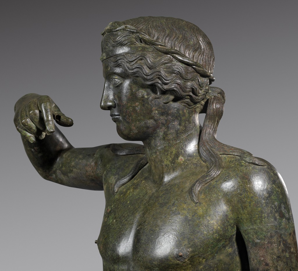 Statue of Young Dionysos, 100 B.C.–A.D. 100. On anonymous loan to the Art Institute. /Photo: Richard Valencia.