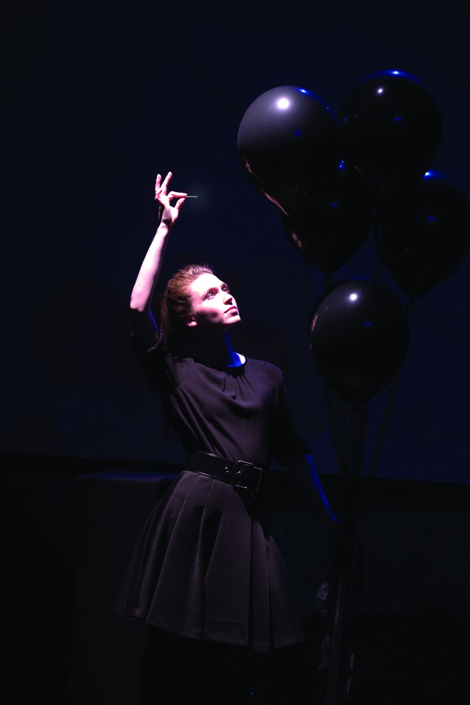 Jeanette Andrews in performance.