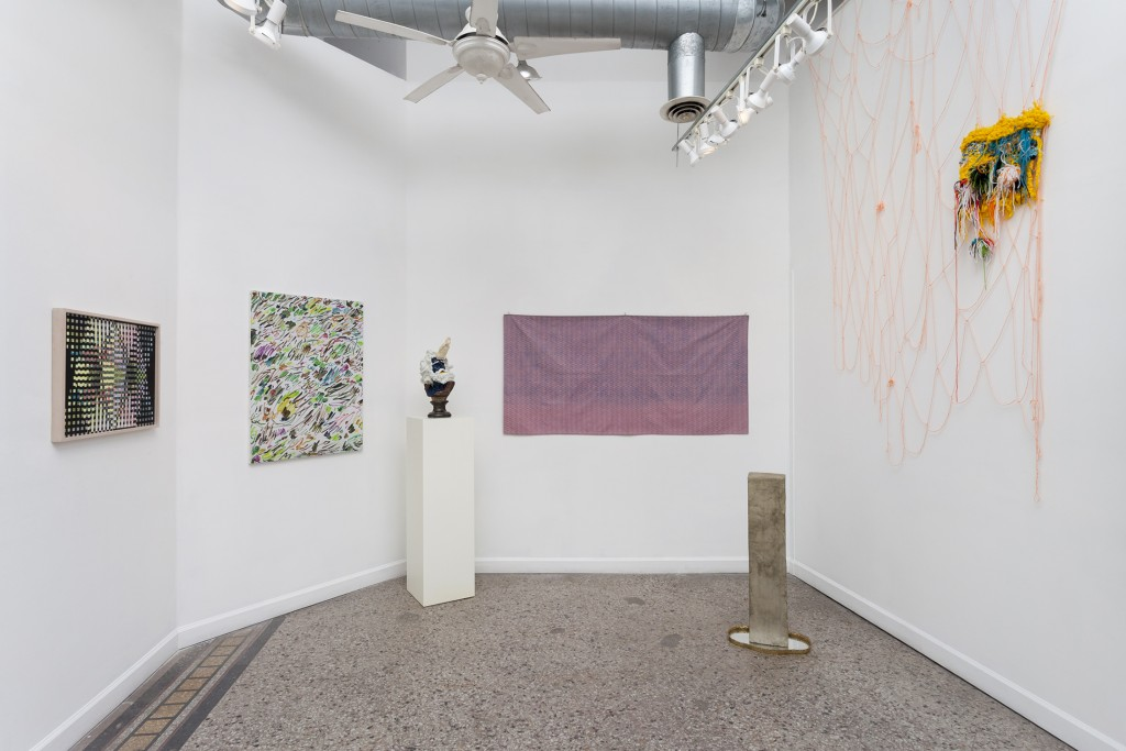 """Installation view of """"ROOTS"""" at Roots & Culture, Winter 2016."""