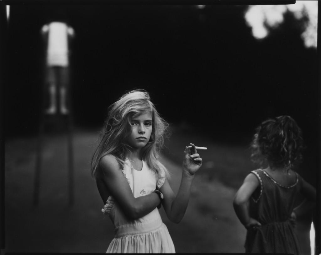 "Sally Mann. ""Candy Cigarette,"" 1989."