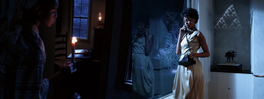 "Lorna Simpson. ""Corridor (detail),"" 2003."
