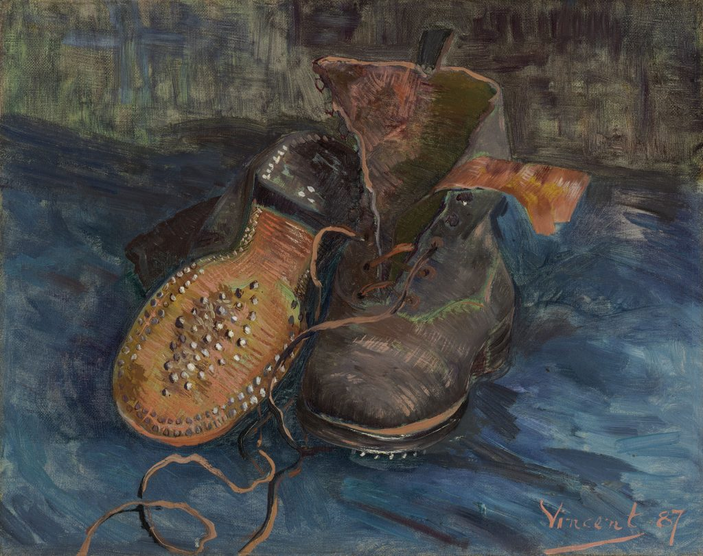 "Vincent van Gogh. ""A Pair of Boots,"" 1887. The Baltimore Museum of Art. /Photo: Mitro Hood."