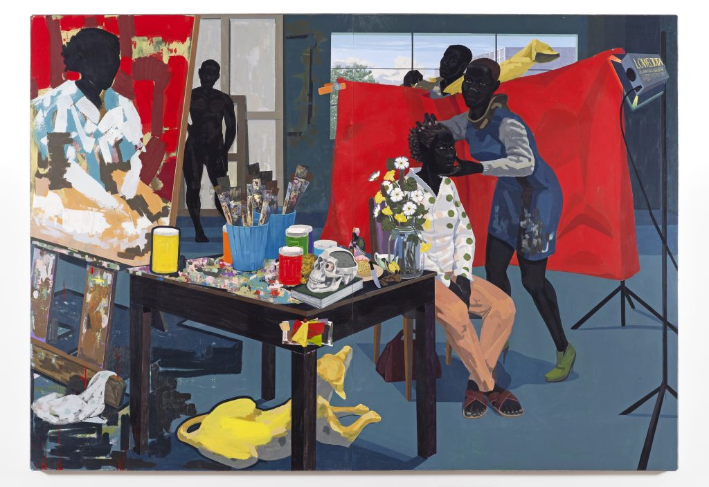 erry James Marshall, Untitled (Studio), 2014. Lent by The Metropolitan Museum of Art, Purchase, The Jacques and Natasha Gelman Foundation Gift, Acquisitions Fund and The Metropolitan Museum of Art Multicultural Audience Development Initiative Gift, 2015. Photo courtesy of the artist and David Zwirner, London.