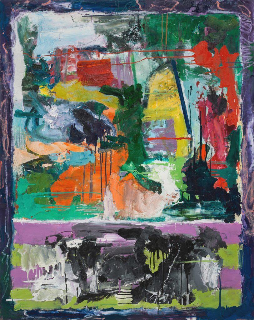 "Judith Goldsmith, ""Circo V,"" Oil on Canvas, 60 x 48 inches"