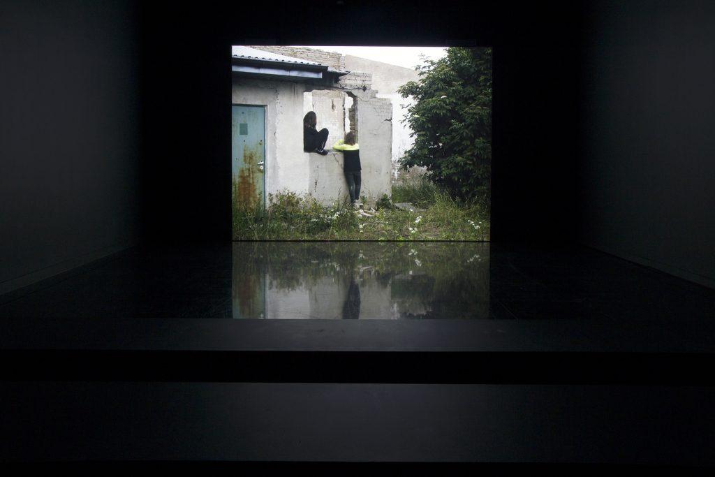 "Sharon Lockhart, Installation view of ""Rudzienko"" at the Arts Club of Chicago, Spring 2016"