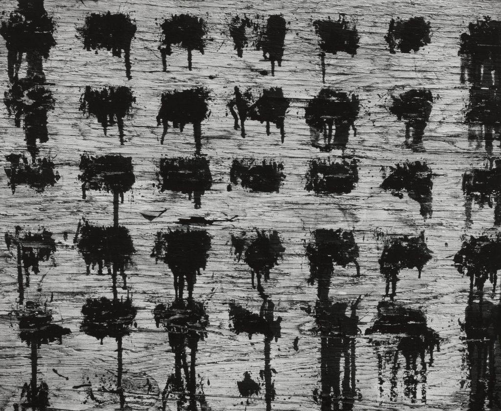 "Aaron Siskind. ""Chicago 42 1952,"" 1952. The Art Institute of Chicago"