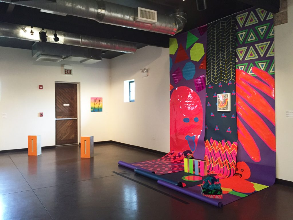 "Installation view of ""Material"" at the National Museum of Puerto Rican Arts and Culture, Summer 2016"