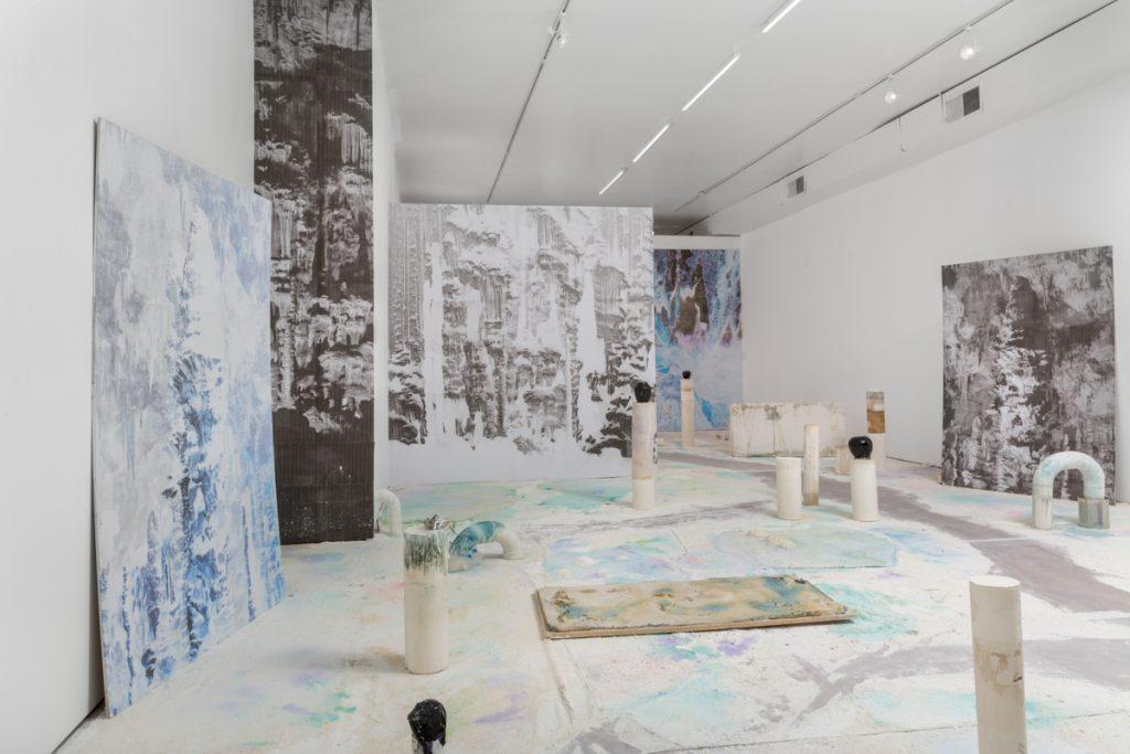 """Julie Escoffier, Installation view of """"Ellipsis"""" at Efrain Lopez Gallery, Summer 2016"""