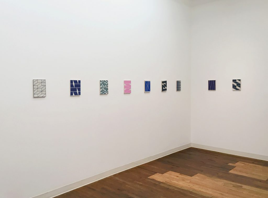 "Alain Biltereyst, Installation view of ""Not Just Because""at Devening Projects + Editions, Fall 2016"