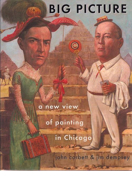 Corbett vs. Dempsey exhibition poster