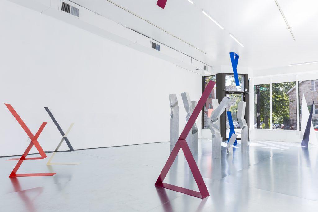 "Amalie Jakobsen, Installation view of ""PROOON"" at Efrain Lopez Gallery, Fall 2016"