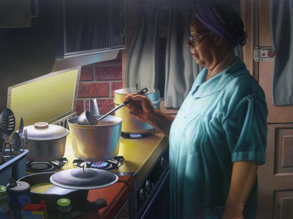 """Russell Harris, """"Late Supper"""""""