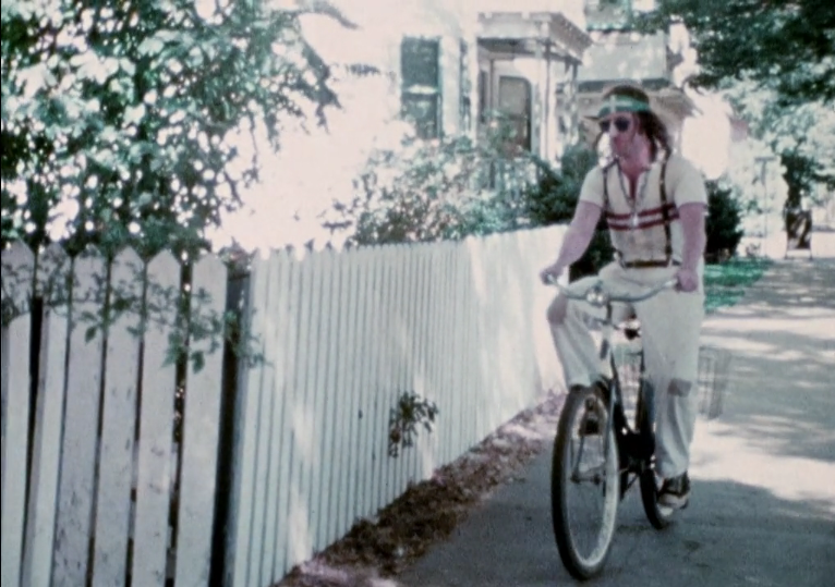 """Still from """"Karl Winsum,"""" 1973. Film by Suzanne Simpson, digital restoration by Pentimenti Productions, 2016, Re-scored by Alex Inglizian and Marc Riordan"""