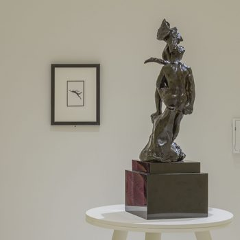 """Rodin and Nauman Face Off: A Review of """"Hysterical Material"""" at the Smart Museum of Art"""