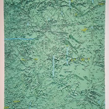 "Book-Smart Painting Hits the Streets: A Review of ""In/scription"" at Zolla/Lieberman Gallery"