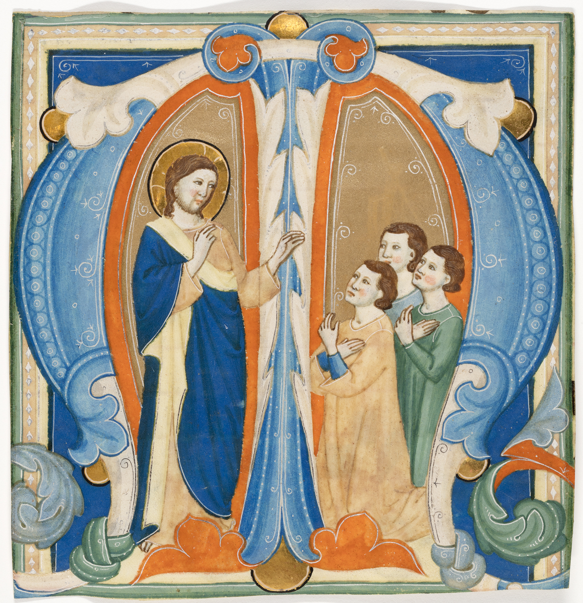 Christ/'s Blessing Art Print Illuminated Manuscripts