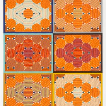 Frenetic and Fabulous Grids and Dots: A Review of Geoffrey Todd Smith at Western Exhibitions