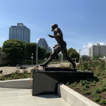 Representative But Lacking: George Halas and Walter Payton Statues at Soldier Field
